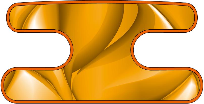 ハンドラップ ドラゴンスケール オレンジ