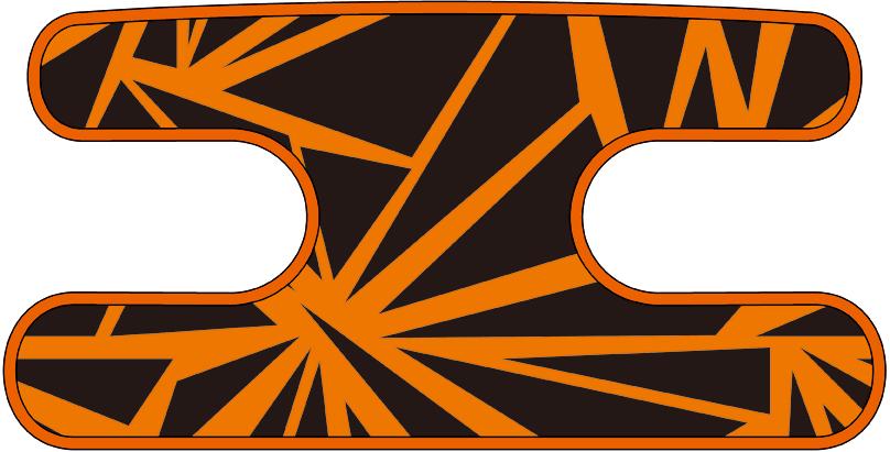 ハンドラップ ラフダイアモンド オレンジ