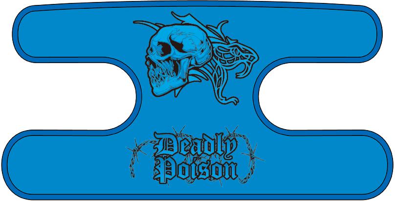 ハンドラップ Deadly Poison ブルー