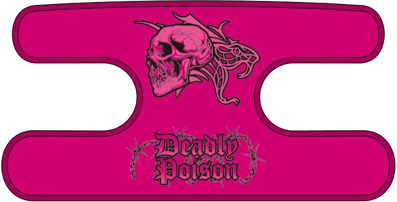 ハンドラップ Deadly Poison マゼンタ