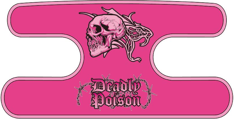 ハンドラップ Deadly Poison ピンク
