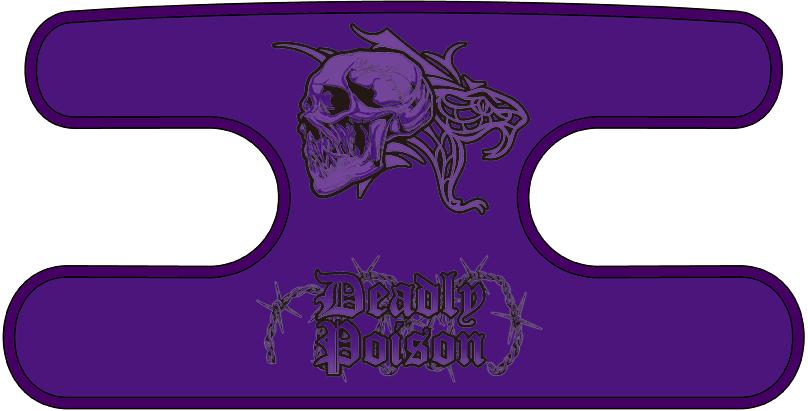 ハンドラップ Deadly Poison パープル