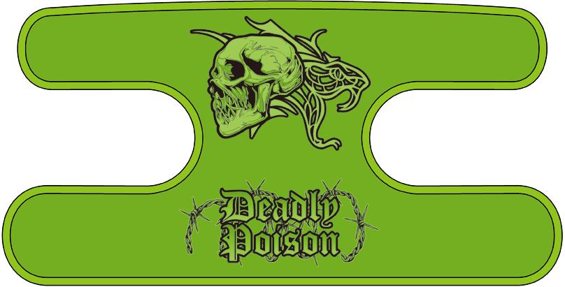 ハンドラップ Deadly Poison イエローグリーン