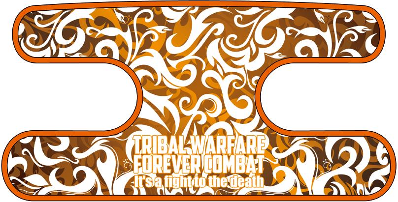 ハンドラップ トライバルファイア オレンジ