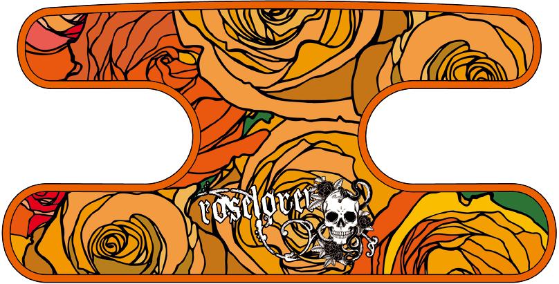 ハンドラップ ドラゴンフィール オレンジ