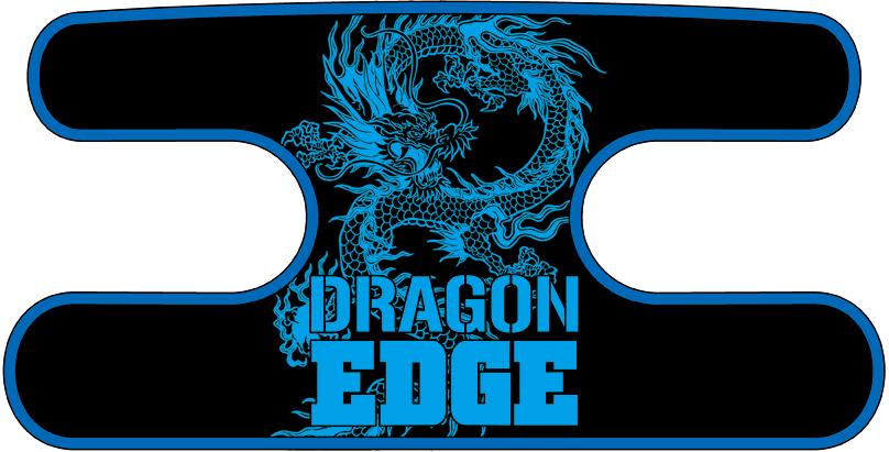 ハンドラップ ドラゴンエッジ ブラック×ブルー