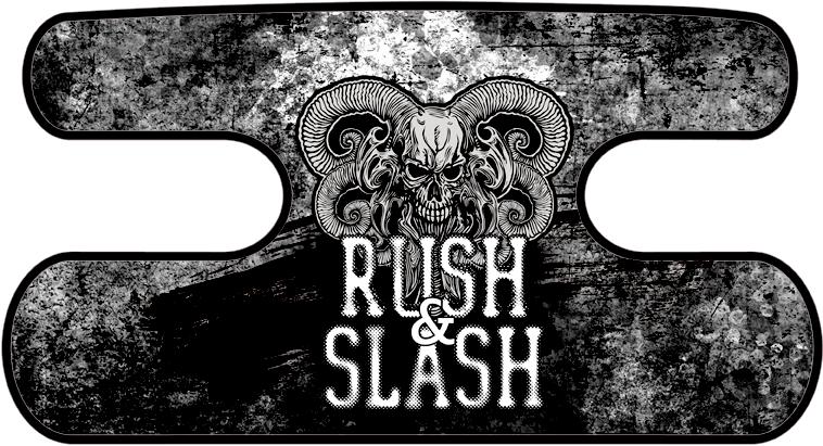 ハンドラップ RUSH&SLASH グランジブラック