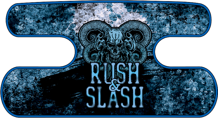 ハンドラップ RUSH&SLASH グランジブルー