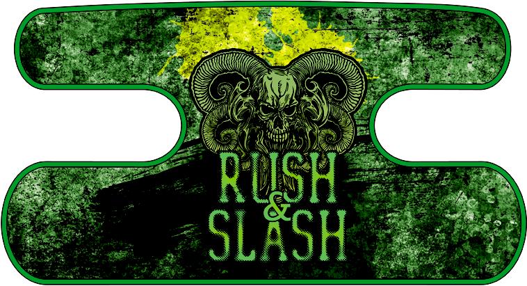 ハンドラップ RUSH&SLASH グランジグリーン