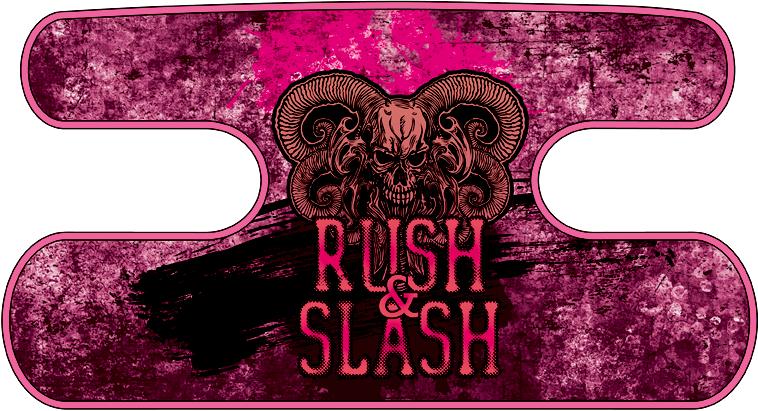 ハンドラップ RUSH&SLASH グランジピンク