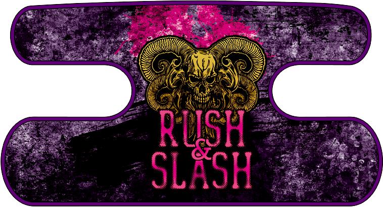 ハンドラップ RUSH&SLASH グランジパープル