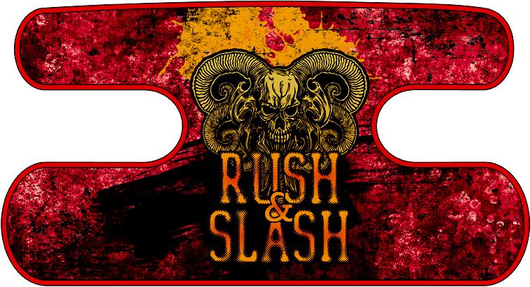 ハンドラップ RUSH&SLASH グランジレッド