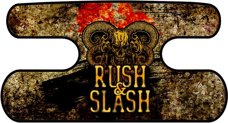 ハンドラップ RUSH&SLASH グランジイエロー