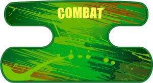 ハンドラップ BLAST COMBAT グリーン