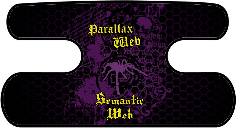 ハンドラップ Semantic-Web ブラック×パープル