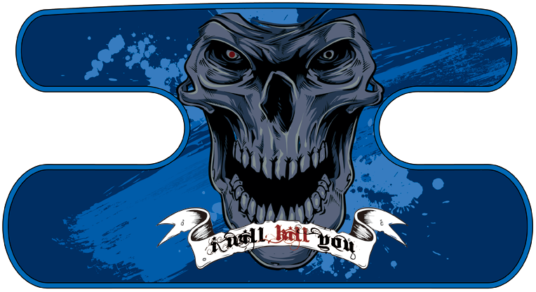 ハンドラップ I Will Kill You ブルー