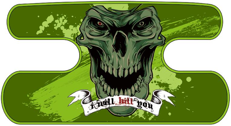 ハンドラップ I Will Kill You グリーン