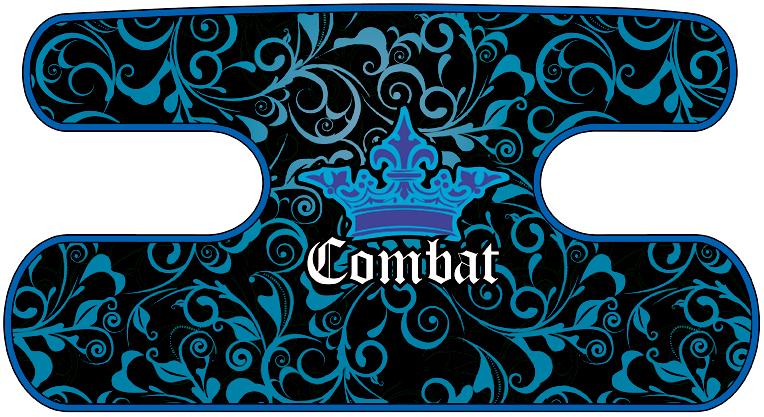 ハンドラップ Floral Combat ブルー