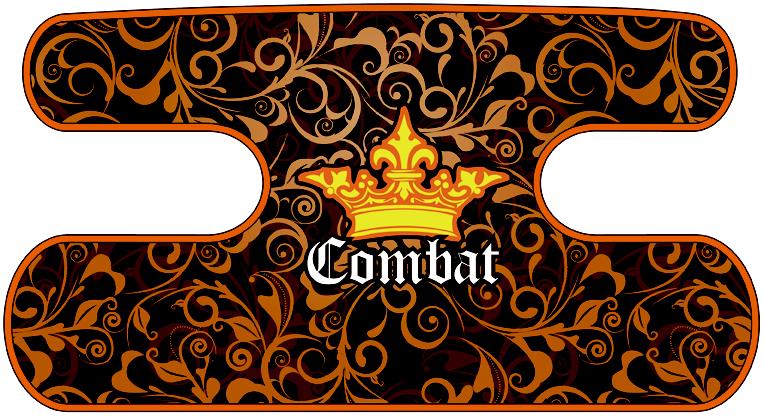ハンドラップ Floral Combat オレンジ