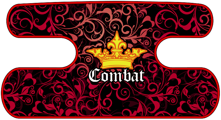 ハンドラップ Floral Combat レッド