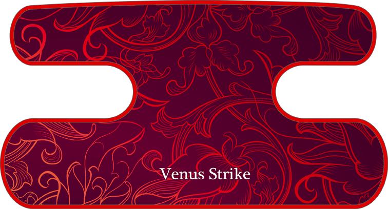 ハンドラップ Venus Strike レッド