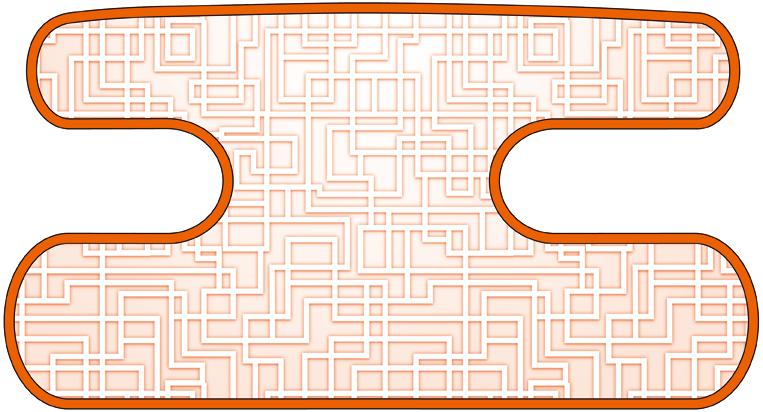 ハンドラップ ラビリンス オレンジ