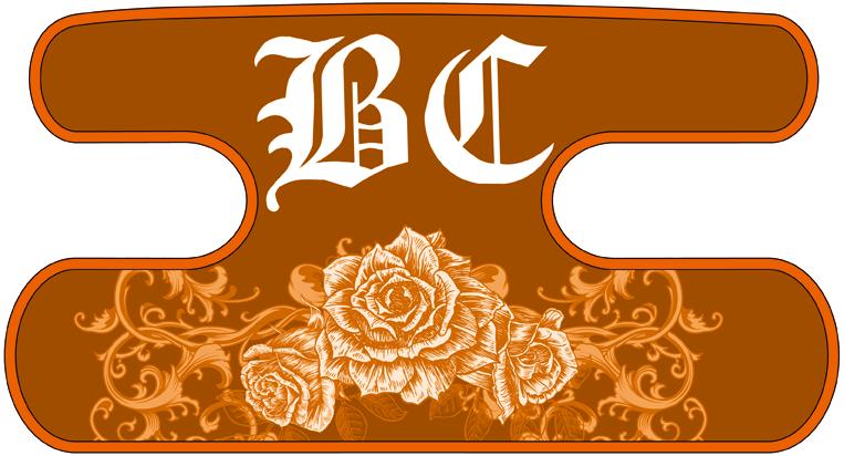 ハンドラップ Ornament Rose オレンジ
