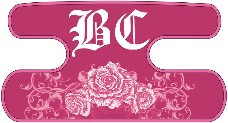ハンドラップ Ornament Rose ピンク