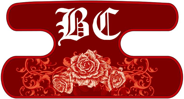 ハンドラップ Ornament Rose レッド