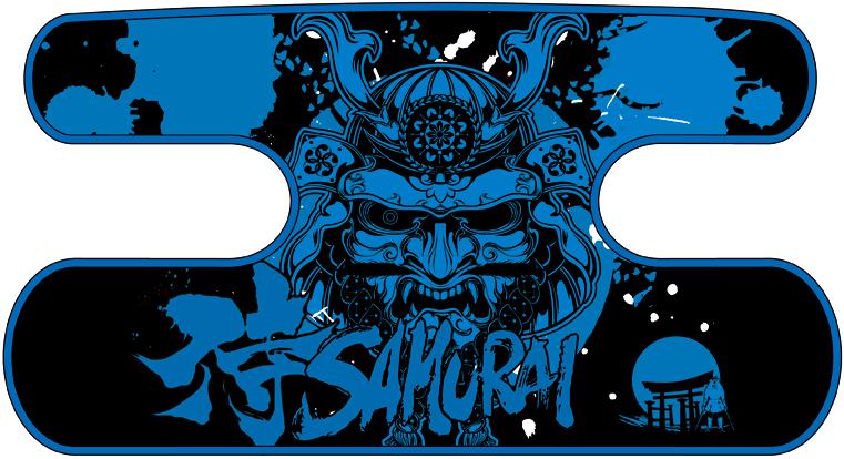 ハンドラップ SAMURAI ブラック×ブルー