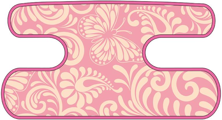 ハンドラップ Flourish Butterfly ピンク