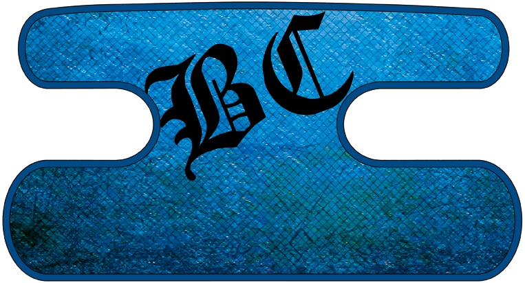 ハンドラップ Dragon Leather ブルー