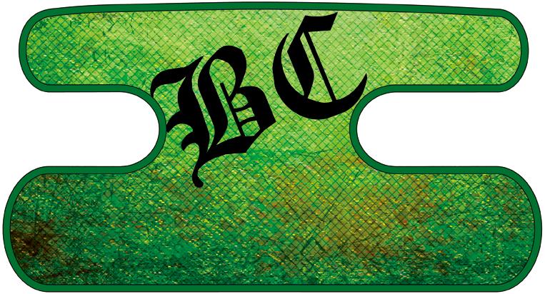 ハンドラップ Dragon Leather グリーン