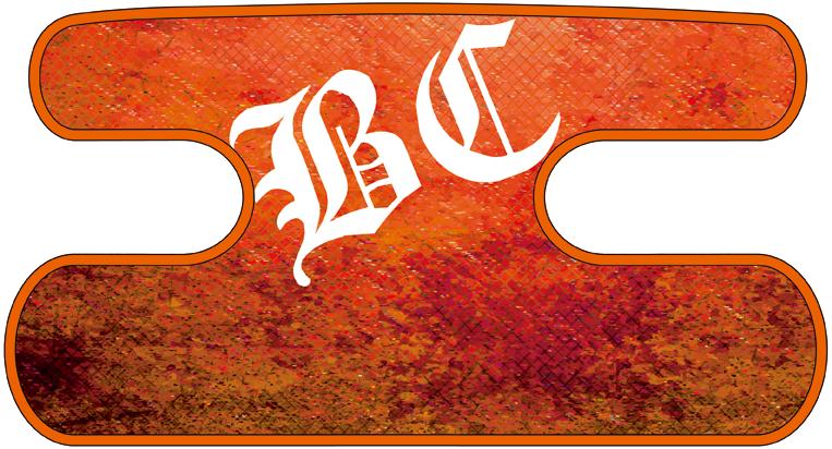 ハンドラップ Dragon Leather オレンジ
