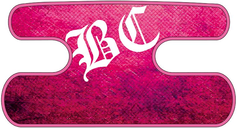 ハンドラップ Dragon Leather ピンク