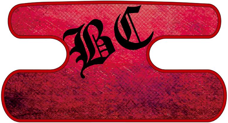 ハンドラップ Dragon Leather レッド