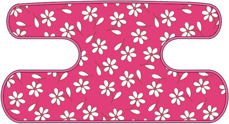 ハンドラップ Little Flower ピンク