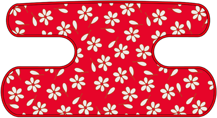 ハンドラップ Little Flower レッド