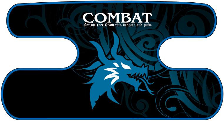ハンドラップ Dragon Head ブルー