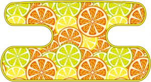 ハンドラップ Citrus Splash イエロー×オレンジ