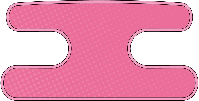 ハンドラップ Dot Dot ピンク