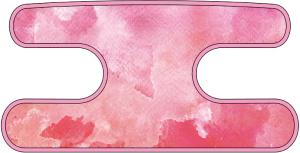 ハンドラップ ウォーターカラー ピンク