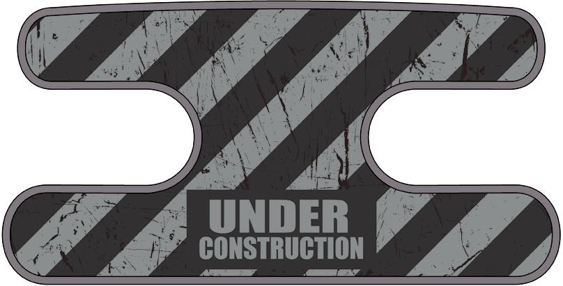 ハンドラップ Under Construction グレー