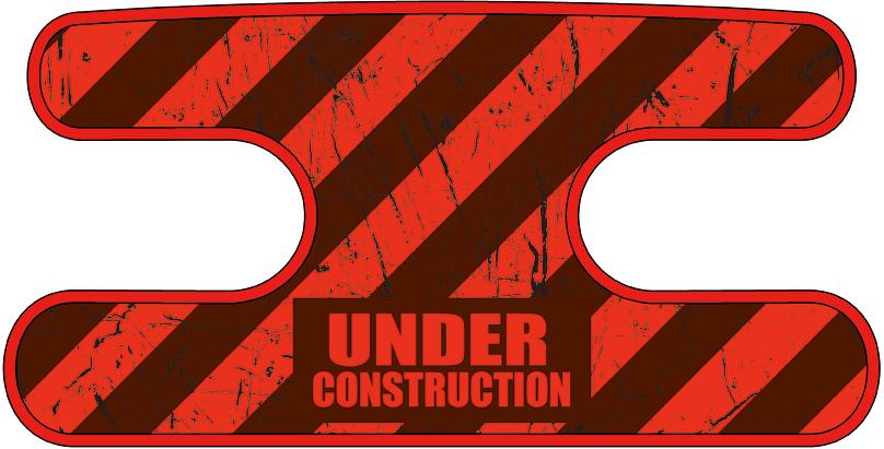 ハンドラップ Under Construction レッド