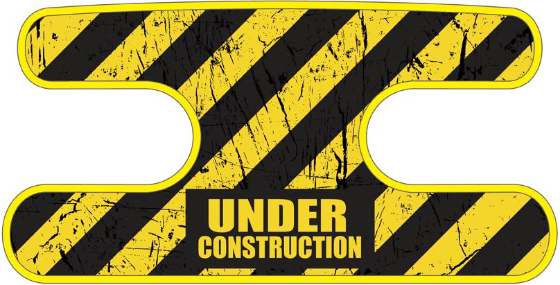 ハンドラップ Under Construction イエロー
