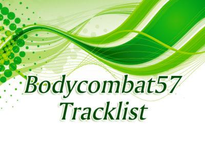 Bodycombat57 トラックリスト(補完)