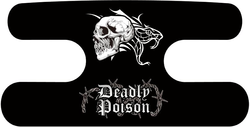 ハンドラップ Deadly Poison ブラック