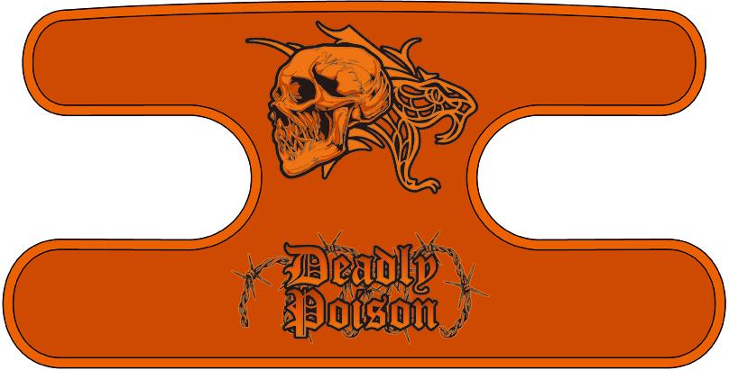 ハンドラップ Deadly Poison オレンジ