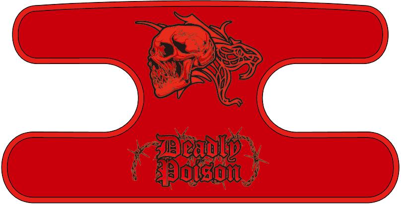 ハンドラップ Deadly Poison レッド
