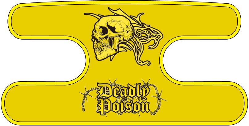 ハンドラップ Deadly Poison イエロー